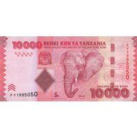 Танзания 10 000 шиллингов 2010 года (UNC)