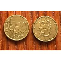 Финляндия, 50 евроцентов 2001