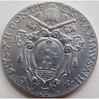 5. Ватикан 1 лира 1941 год.