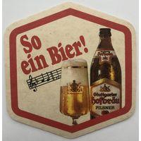Подставка под пиво Stuttgarter Hofbrau /Германия/-2