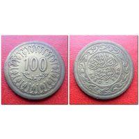 100 миллимов Тунис 1960 года- из коллекции