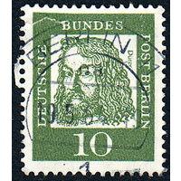 119: Германия (Западный Берлин), почтовая марка, 1961 год