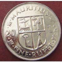 5893:  1 рупия 2012 Маврикий