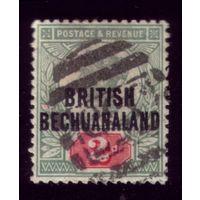 1 марка 1891 год Британский Бечуаналенд 41