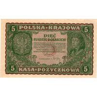 Польша, 5 марок, 1919 г.
