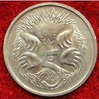 7308:  5 центов 1983 Австралия медно-никелевый сплав