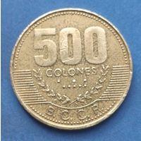 Коста-Рика, 500 колонов 2003 г.
