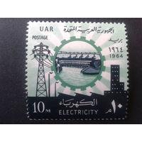 Египет 1964 электрификация