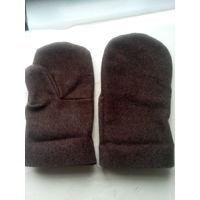 Рукавицы шерстяные (и для бани)