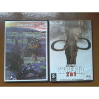 Компьютерные PC игры Syberia, Alien vs Predator, Painkiller, Still Life, Medal of honor, Warcraft 3, Wolfenstein