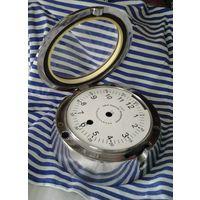 """Корабельные часы, типа с """"Титаника"""". ТОЛЬКО КОРПУС И ЦИФЕРБЛАТ."""