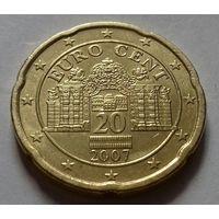 20 евроцентов, Австрия 2007 г.