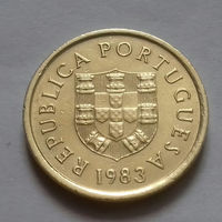 1 эскудо, Португалия 1983 г., AU
