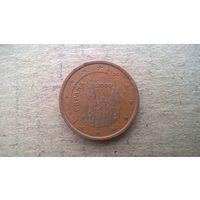 Испания 5 евроцентов, 2000г. (D-4)