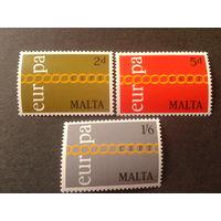 Мальта 1971 Европа