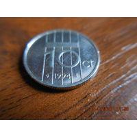 10 центов, Нидерланды, 1994 г.