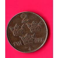 23-11 Швеция, 2 эре 1947 г.