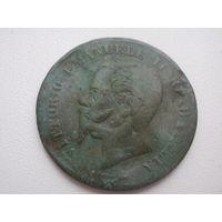 5 чентезимо 1862, Италия