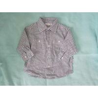 Рубашка на малыша, р.68