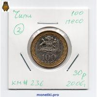 100 песо Чили 2006 года (#2)