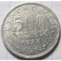 Германия 500 марок, 1923     A       ( 6-5-4 )