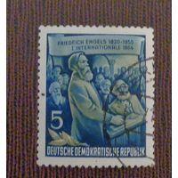 Фридрих Энгельс. ГДР. Дата выпуска:1955-11-07.