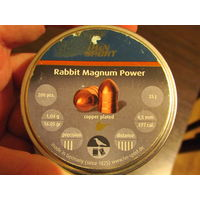 Пульки HN Rabbit Magnum Power кал. 4,5 мм 1,04 г (159/200 шт)