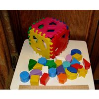 Большой куб сортер