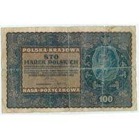 Польша, 100 марок польских 1919 год.