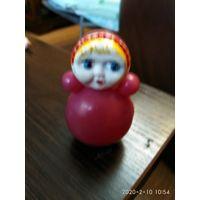 Самая маленькая кукла Неваляшка СССР.