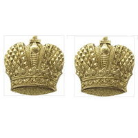 Эмблема петличная казачья (корона) золотая. ОБМЕН приветствуется!