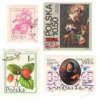 Марки почтовые, Польша.