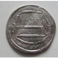 Дирхем халиф ал Махди 161 г.х. Мадинат ас Салам (ныне Багдад) старая коллекция.
