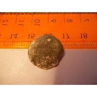Монета один грош 1759 года Россия для пруссии R4 (Елизавета 1)