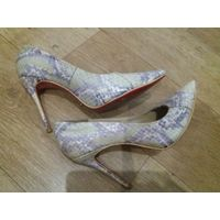Туфли из кожи змеи MiaMay