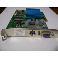 Nvidia G-force 2 Mx Agp 64mb Vga S-video (Tv) 180-10036-0100