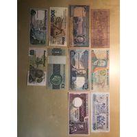 10 банкнот Португалия и колонии
