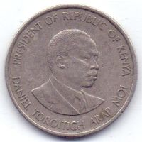 Кения, 50 центов 1980 года.