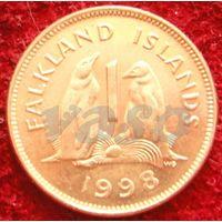 7792:  1 пенни 1998 Фолклендские острова