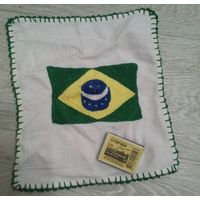 Вышитый флаг Бразилии