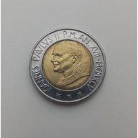 ВАТИКАН  500 лир 1995 г.
