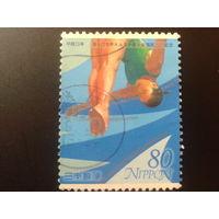 Япония 2001 прыжки в воду