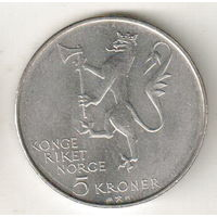 Норвегия 5 крона 1978 350 лет норвежской армии