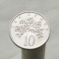 Ямайка 10 центов 1969