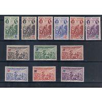 Колония Франции Реюньон 12 марок без наклеек и следов