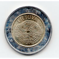 2 евро Литва балтская культура