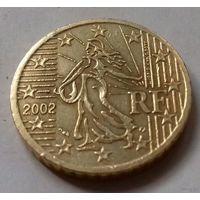 50 евроцентов, Франция 2002 г.