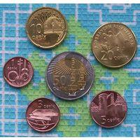 Азербайджан 1, 3, 5, 10, 20, 50 гипяк. UNC. Гарантия низкой цены!