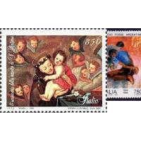 Италия 1995 году 800-летия со дня рождения Антония Падуанского Живопись Мадонна