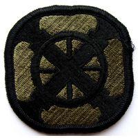 Шеврон 428-ой полевой артиллерийской бригады Сухопутных войск США (распродажа коллекции)